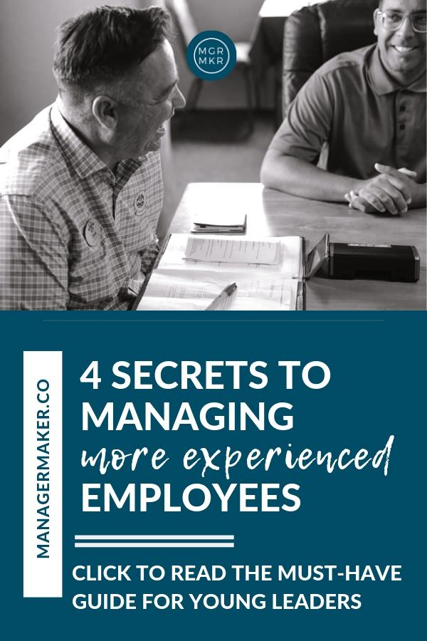MANAGING MORE EXPERIENCED EMPLOYEES by MANAGERMAKER.CO